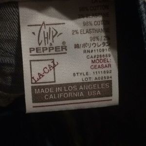 Chip & Pepper Jeans - Chip and pepper bell bottoms size 4